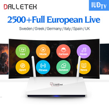 Leadcool IPTV TV Arabic Box Dalletek Indian Channels TV Box with Leadcool IUDTV 1 Year