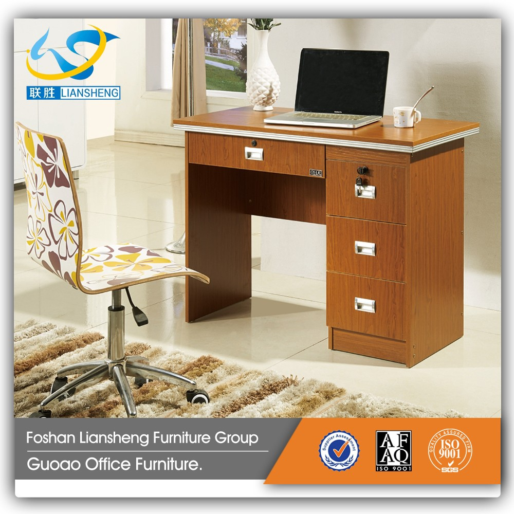 Cheap low price wood smart design small computer desk GCD-1102