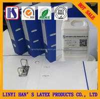 Han's PVC glue and wood adhesive, white latex for wood,mainly used folders