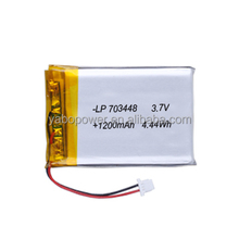 high density 3.7v lipo battery 1200mah lithium polymer battery for RC helicopter