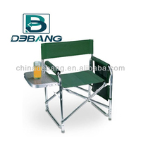Portable Aluminum Director Chair with Table