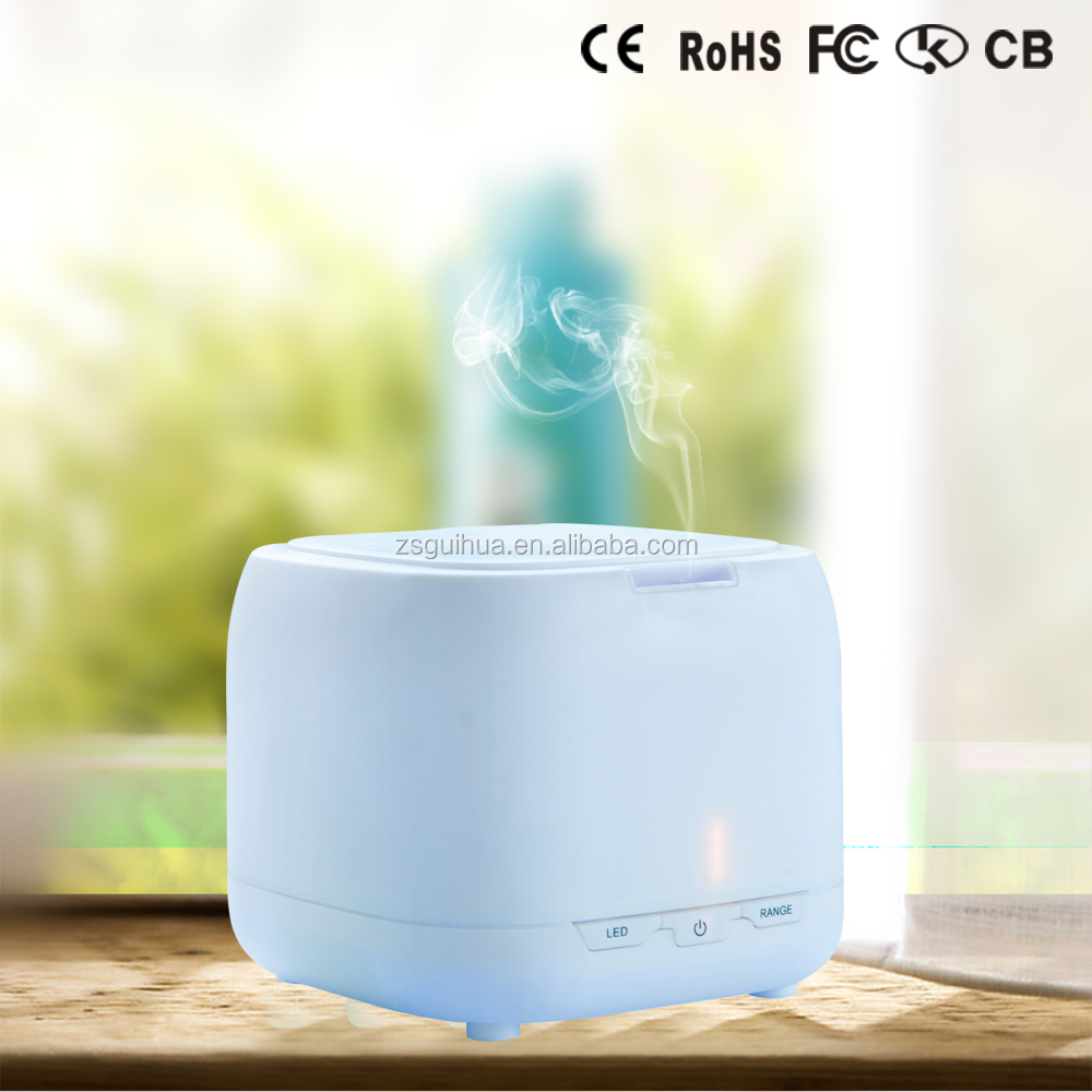 2016 Best selling! Health care product Manual Humidity Control Mini 400ml electric Aroma diffuser With colorful LED night light
