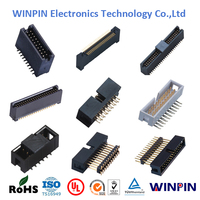2.00mm Pitch dual raw Electronic wire to board Box Header PCB Connector,UL,ROHS approved