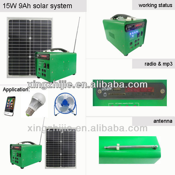 solar led system,solar system with radio, Suppliers and Exporters