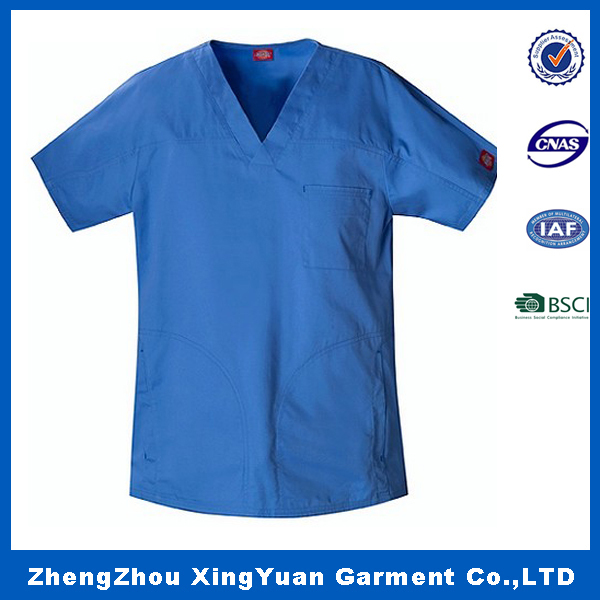 High quality hospital scrubs/hospital nurse uniform/top medical scrubs