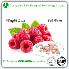 Popular Fat Burning Beauty Product Weight Lose Raspberry Tablets