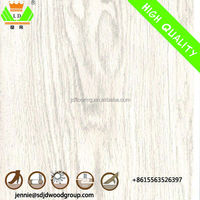 8mm white shade embossment surface laminate flooring