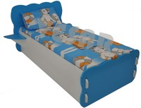 Pilaso Screw less Children Cot - Blue clouds