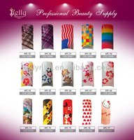 81 Colors French Style Nail Tips Half Cover Nail Tips Colored French Tip Nail Designs