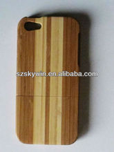 Hottest wood &bamboo cell phone case for iphone5/5s