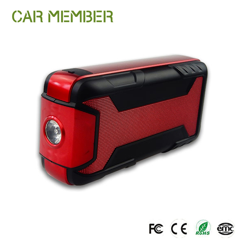 multifunctional car power car power jump starter 12v mini battery booster 12000mah emergency battery charger
