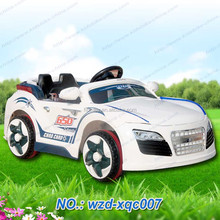 Can shock shock double seat Land Rover children electric car Double drive with music ride on car