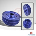 Lightweight Crank Pulley For Honda B16/B18 Engine Civic/Accord Blue