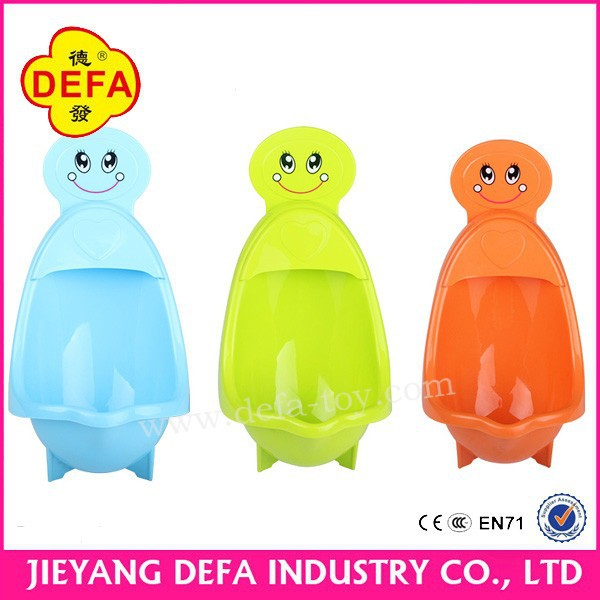 Non-toxic baby potty training potty portable plastic male urinal