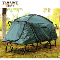 Wholesale Outdoor Furniturer Double Layers Family Hiking Portable Folding Waterproof Camping Tent Cot