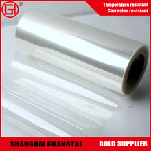 manufacturer Supply Clear Protector metalized PET Film Roll scrap