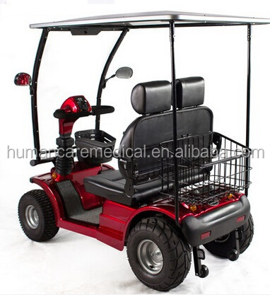 Electric Covered Motor Disability Scooter For Old Elder
