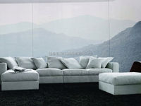 quinta & resort furniture D-27(G+I+K) leather sofa