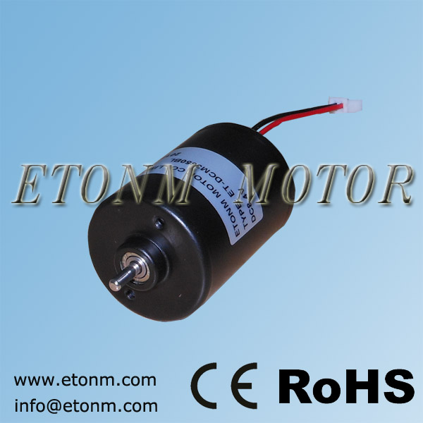 Micro wind generator motor mini fan electric dc brushless motor 6v