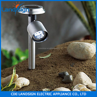 Cixi Sellers New Energy Product Low Voltage Post Cap Lamp Series High Quality SS Material Solar Spot Light