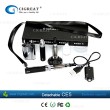 rechargeable battery ego ce5,ce5 clearomizer with two mouthpiece shape