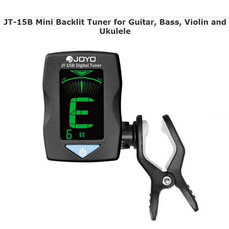 Portable China made JT-15B mini LCD display clip on backlit tuner