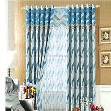 Hot selling made in China Polyester waterproof curtain, ready made window curtain