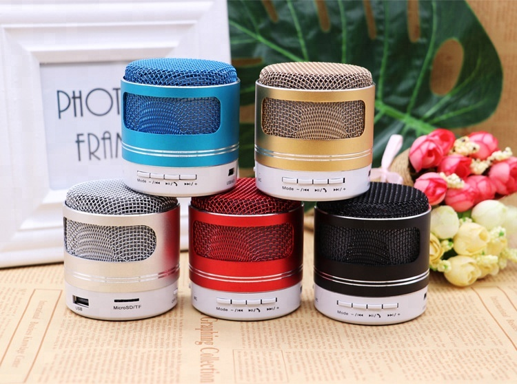 2018 amazon best sell mini speaker portable with memory card