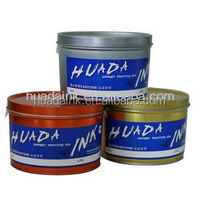 Cost effective, fast setting offset printing inks