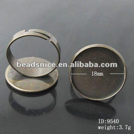 beadsnice id in the picture www.beadsnice.com fashion jewelryring bases for costume jewelry antique rings