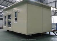 Modern design prefabricated house with suspender flooring high rise steel structure building