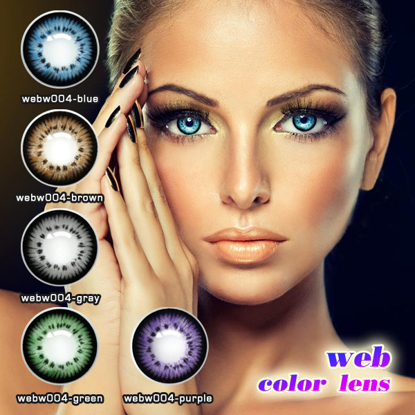 New design cycle periods and soft lenses handness contact lenses / crazy contact lens