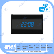 Home security Table Clock Mini Camera 1080P pin wireless hidden camera
