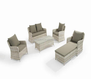 China Supplier Garden Furniture Outdoor Sofa Set Rattan