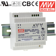 DR-30 Mean well 30W DIN Rail TS-35/ 7.5 /15 switch Power Supply