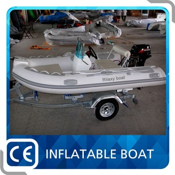 CE 10ft rigid inflatable boat with sail