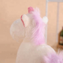 2018 New Best Christmas Gift Cute Animal Unicorn Doll Child Toy Pink Rainbow Horse Girl Gift