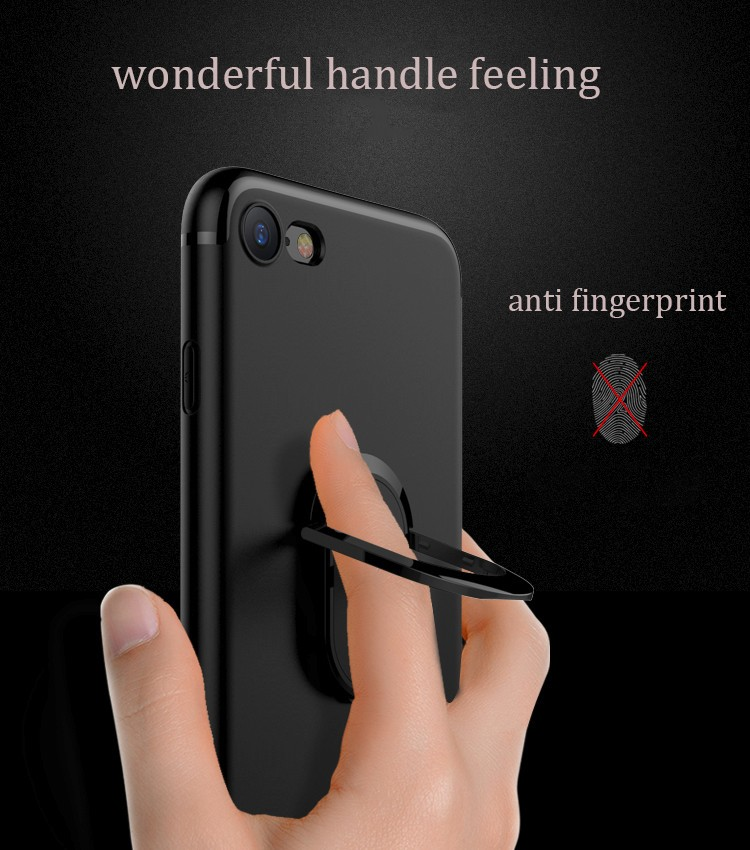 DFIFAN Fashion Mobile Phone Accessories ,Phone Case for Apple Iphone 7 /7 plus with Finger Ring Holder