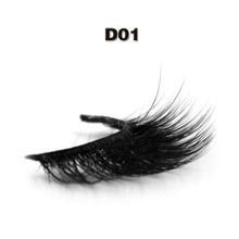 Wholesale Price 3d Silk Lashes Private Label Silk Eyelashes Faux Mink Lashes