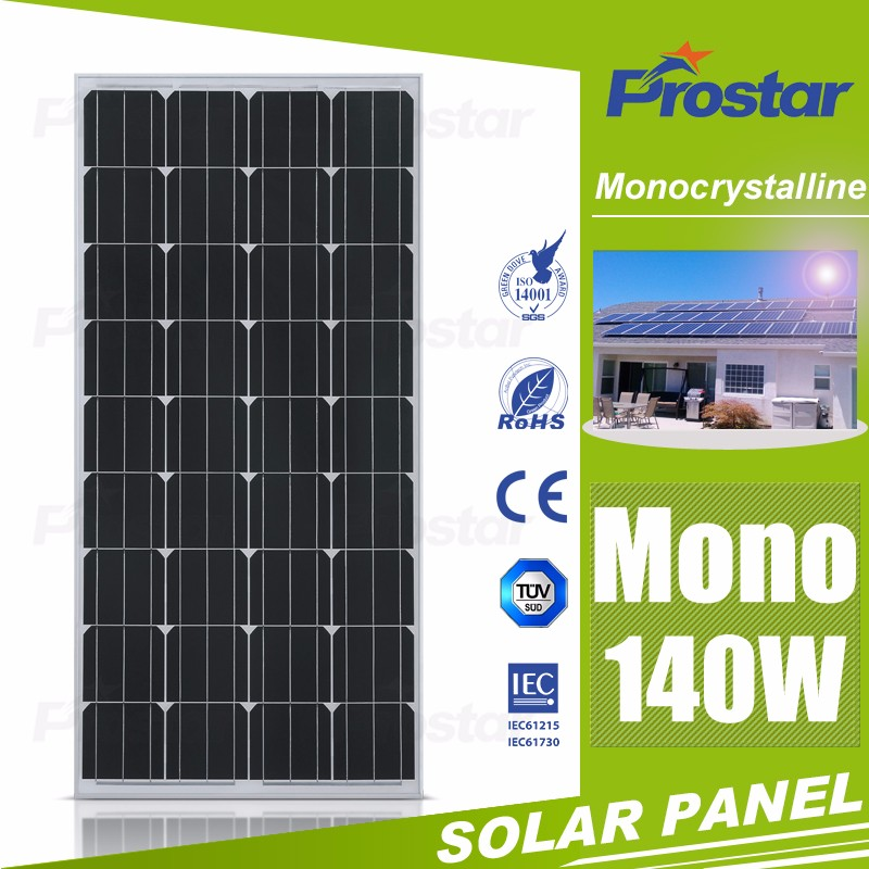 140w mono crystal photovoltaic solar panel photovoltaic panel price