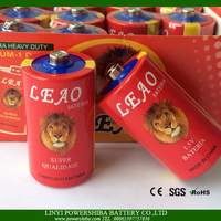 Tiger/Lion Head Cheap R20 Size D Dry Cell Battery
