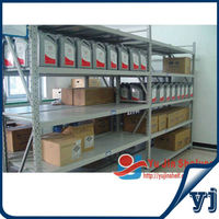 Warehouse powder coated steel shelving with cheap price