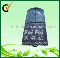 PP nonwoven dustbag for suits wedding dress cover bag