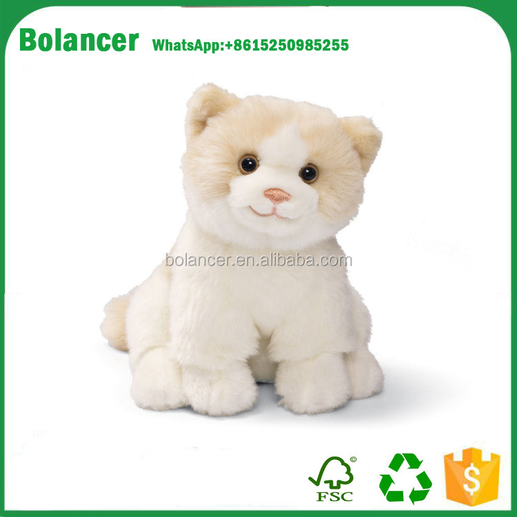 Hot Selling Cuddly Plush Soft Kitten Stuffed Toy for kids