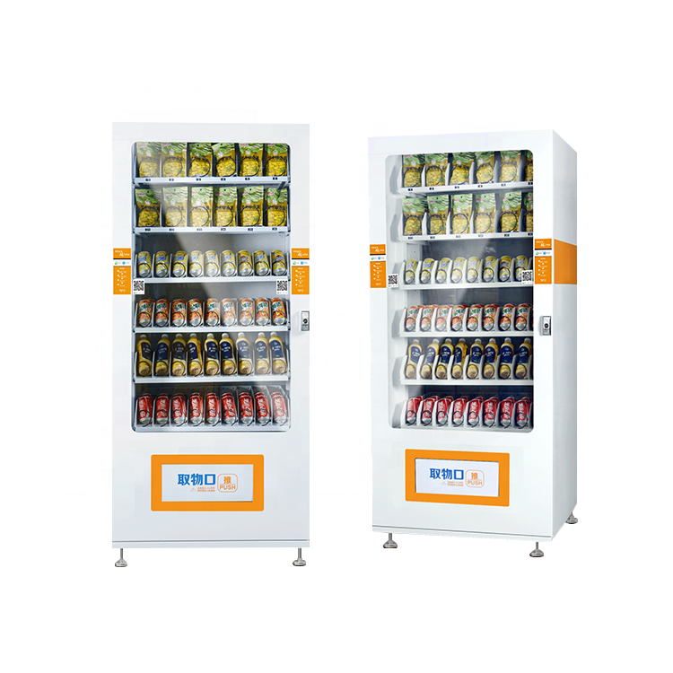24-Hour Self-Service Automatic Coin Operated Vending Machine For Drink Snack