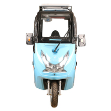 Solar panel 3 wheel trike tricycle motorcycle electric scooter for elderly