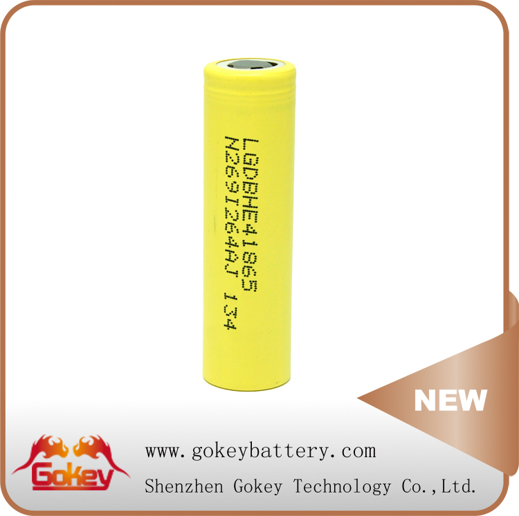 LG HE4 3.7V 2500mAh Authentic Deep Cycle life 3.7v li-ion rechargeable battery
