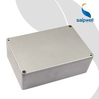 SAIP/SAIPWELL 240*160*80 High Standard Hot Sale New Design Waterproof IP66 Electronic Aluminum Enclosure Box
