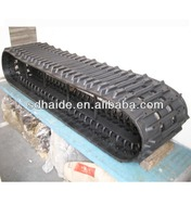 snow sweeper rubber track,snow blower rubber track,sweeper rubber crawler