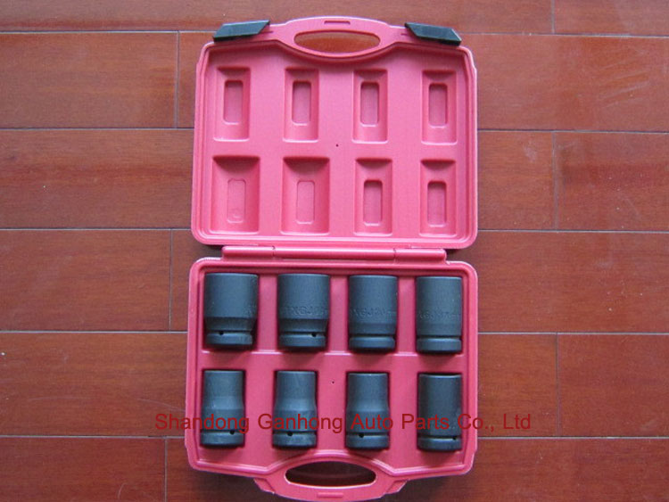 High precision professional heavy duty impact socket set